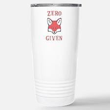 Zero (Fox) Given Stainless Steel Travel Mug