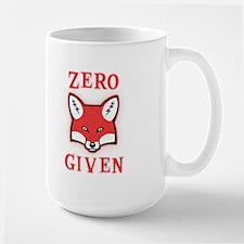 Zero (Fox) Given Large Mug