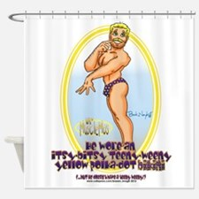Teeny Weny Bikini Shower Curtain
