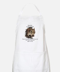 Funny Quit Smoking Squirrel Quote Apron