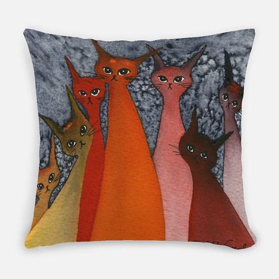 Casablanca Stray Cats Everyday Pillow