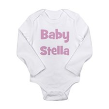 Cute Stella Long Sleeve Infant Bodysuit