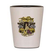 Speed Queen Pin-Up Shot Glass