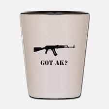 Got AK? Shot Glass