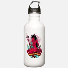 Devil Pin-Up Girl - To Water Bottle