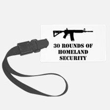 30 Rounds of Homeland Security Luggage Tag