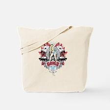 Sailor Pin Up Girl - Mustang Car Show No. Tote Bag