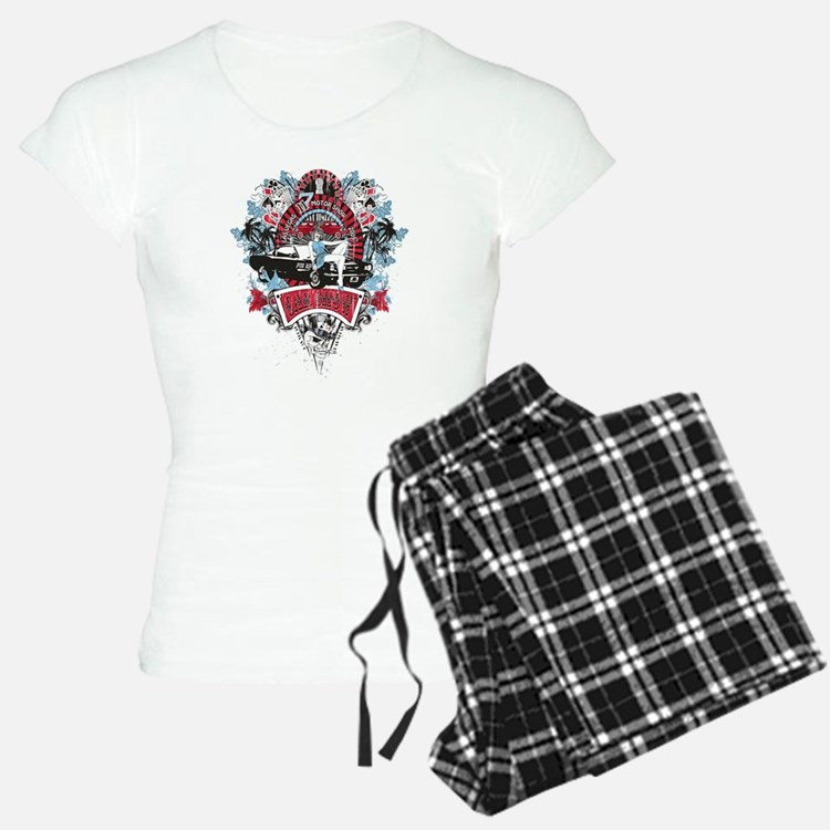 Sailor Pin Up Girl - Mustan Pajamas