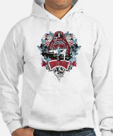 Sailor Pin Up Girl - Mustang Car Jumper Hoody