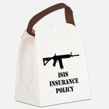 ISIS Insurance Policy Canvas Lunch Bag