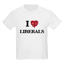I Love Liberals T-Shirt
