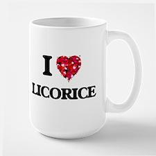 I Love Licorice Mugs