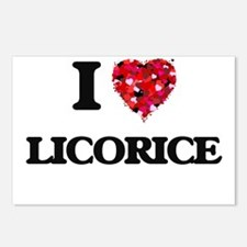 I Love Licorice Postcards (Package of 8)