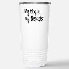 My Blog is my therapist Travel Mug
