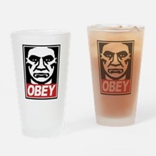 Obey  Drinking Glass
