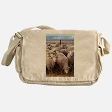 Sheep Herd Messenger Bag