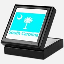 South Carolina Flag Keepsake Box