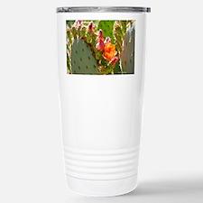 Prickly Pear Blooms Travel Mug