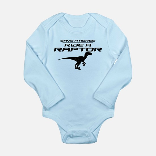 Save a Horse, Ride a Raptor Onesie Romper Suit