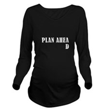 Cute Poor Long Sleeve Maternity T-Shirt
