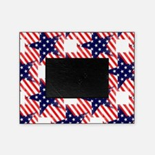 patriotic star Picture Frame