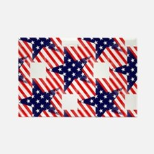 patriotic star Magnets