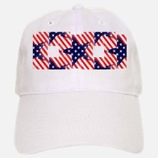 patriotic star Baseball Baseball Cap