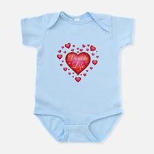 Donate Life Heart burst Infant Bodysuit