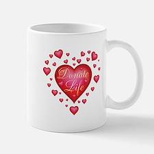 Donate Life Heart burst Mug