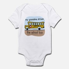 Grandma Drives The Bus Infant Bodysuit