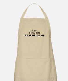 I only date Republicans! Apron
