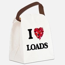I Love Loads Canvas Lunch Bag
