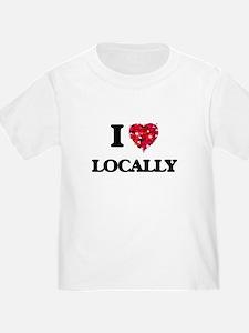 I Love Locally T-Shirt