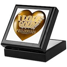 I Love Gold Philippines Keepsake Box