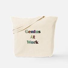 Genius At Work Tote Bag