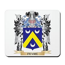 Fevre Coat of Arms - Family Crest Mousepad