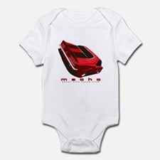 """Muscle """"Ca-Macho"""" Baby Bodysuit (Pink/Blue avail)"""