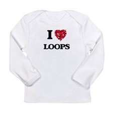 I Love Loops Long Sleeve T-Shirt