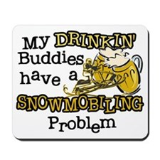 Drinkin' Buddies Mousepad