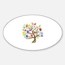 Tree Of Hands Decal