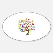 Tree Of Hands Stickers