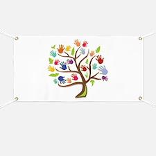 Tree Of Hands Banner