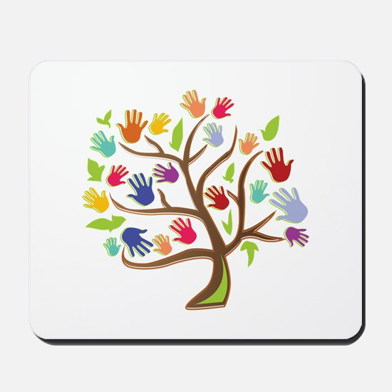 Tree Of Hands Mousepad