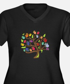 Tree Of Hands Plus Size T-Shirt