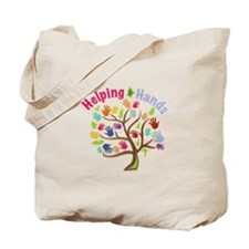 Helping Hands Tote Bag
