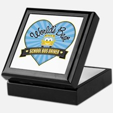 Best School Bus Driver Keepsake Box