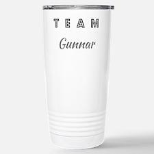 TEAM GUNNAR Stainless Steel Travel Mug
