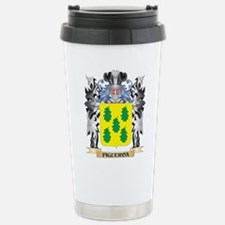 Figueroa Coat of Arms - Stainless Steel Travel Mug