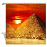 Egyptian Shower Curtains