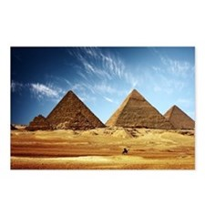 Egyptian Pyramids and Camel Postcards (Package of